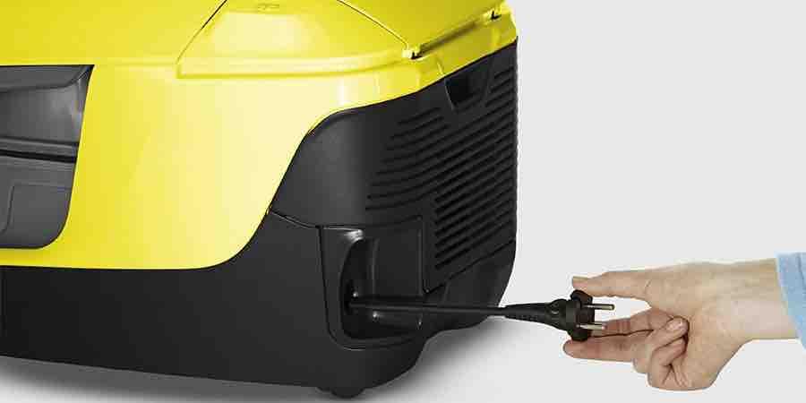 Recogida automática del cable de la Karcher D 5800