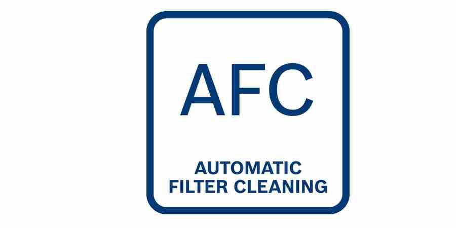 filtro automático de limpieza afc del aspirador bosch gas 35 l afc